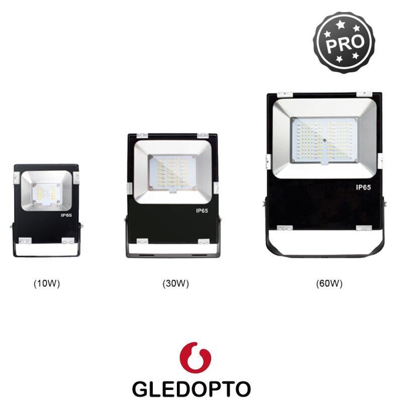 RGBCCT Floodlight Spotlight garden spotlight with 10 - 60 Watt ZigBee compatible