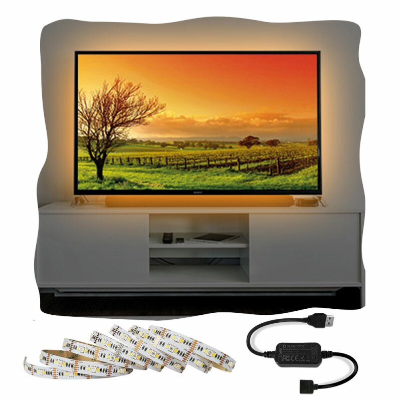 ZigBee Starter Set LED Ambilight Light 2 meters 5V suitable for TV with USB