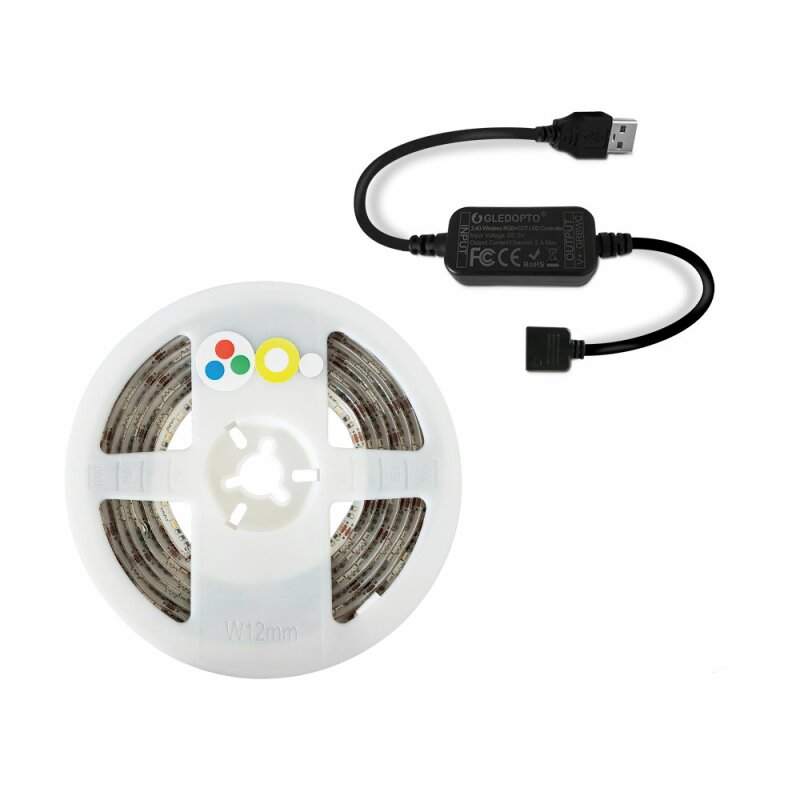 ZigBee Starter Set LED Ambilight Light 2 Meters 5V Suitable for TV with USB IP20