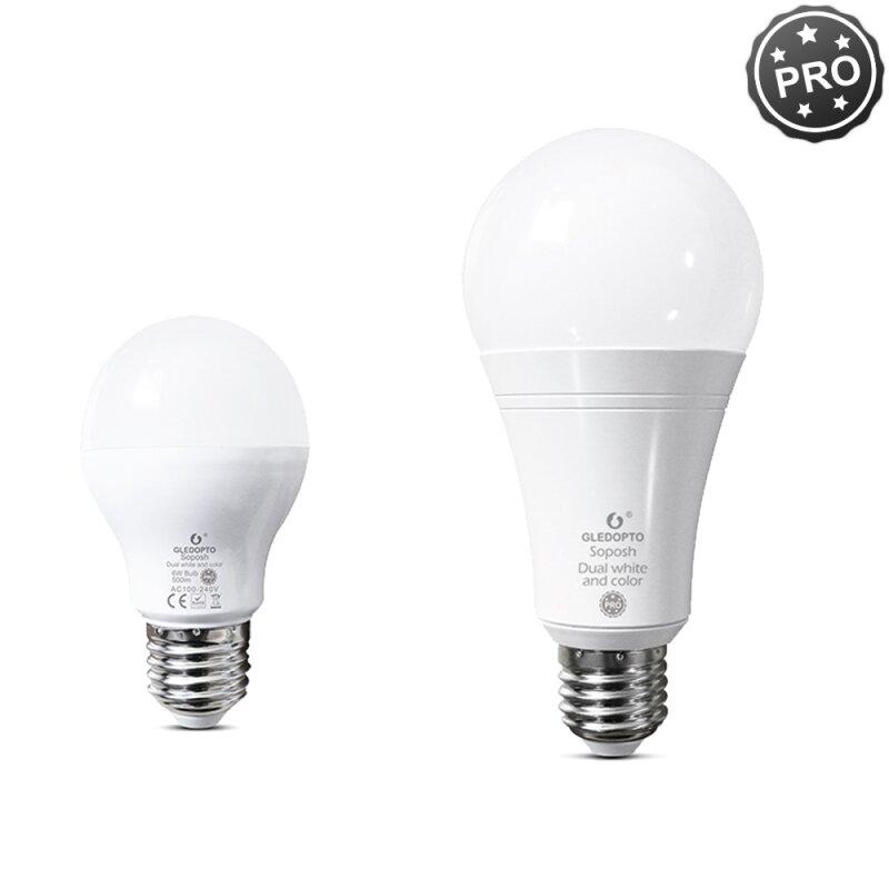 LED E27 bulb ZigBee Light Link Extension RGB color change CCT control